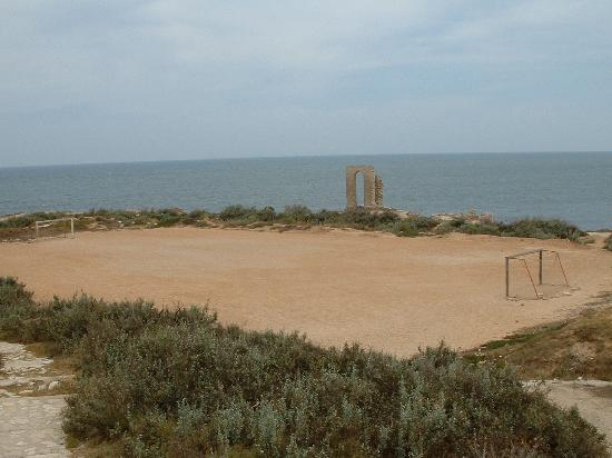 Mahdia, Tunisie : Le terrain de foot le plus incroyable !
