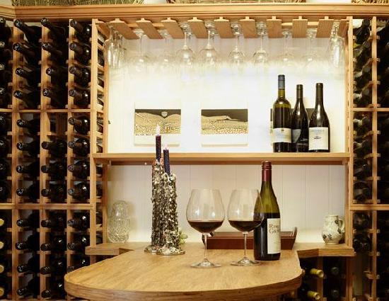 A Culinary Experience Luxury B and B: The wine cellar
