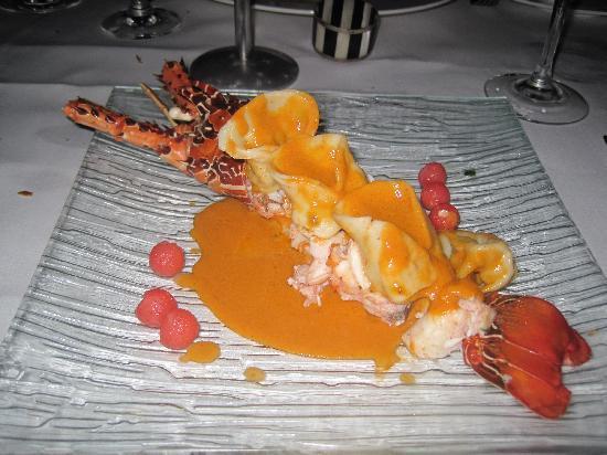 Le Planteur: lobster entree