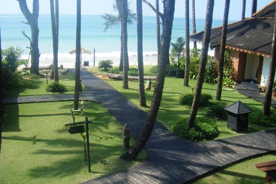 Amazing Ngapali Resort : Vista desde la habitacion