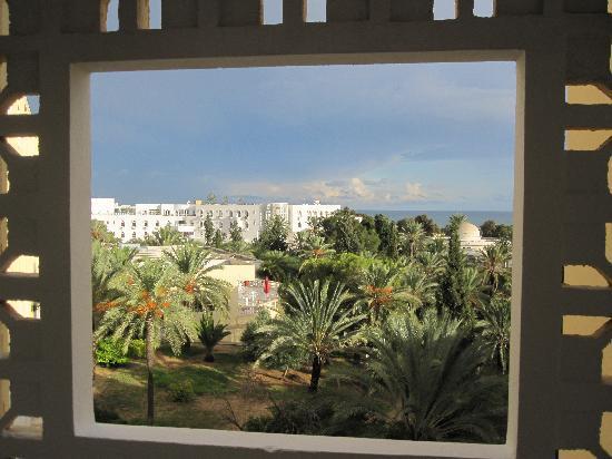Hotel Marhaba: Blick vom Balkon