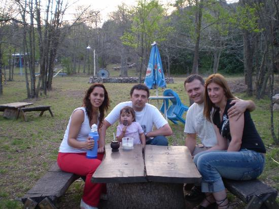Villa Icho Cruz, Arjantin: mates de tardecita