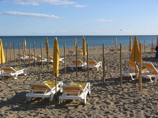 Hotel Roc Lago Rojo : the beach