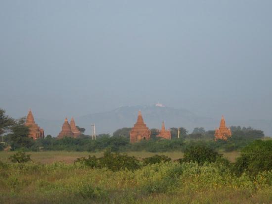 Kumudara Hotel Bagan: view from the room