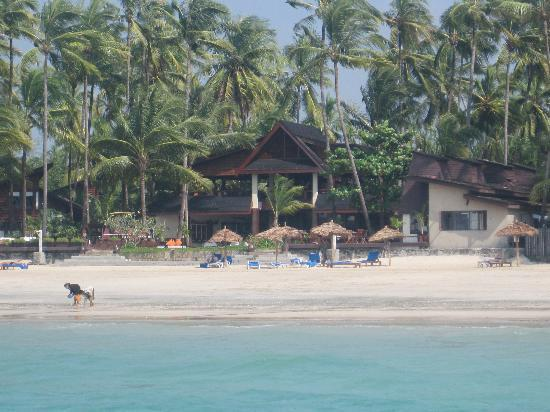 Amata Resort and Spa : resort from the boat