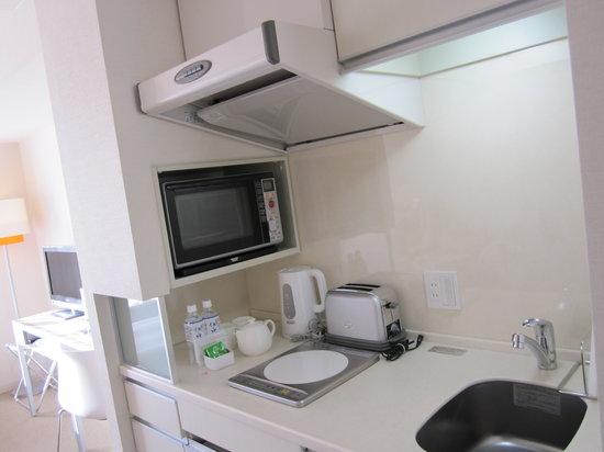 Citadines Karasuma-Gojo Kyoto: Kitchen