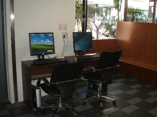 Annex Katsutaro: lobby computers