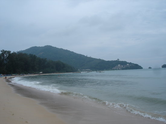 Nai Yang, Tajlandia: am strand