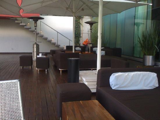 W Mexico City : Uptairs patio