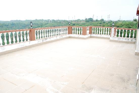 Bogmalo, Indien: Terrace