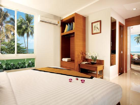 Kantary Beach Hotel Villas & Suites Khao Lak: Villa Bedroom