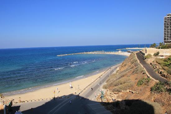 Carlton Tel Aviv: View from balcony