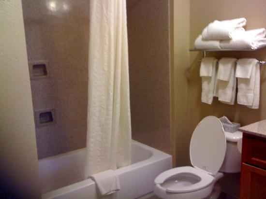 Candlewood Suites San Antonio N - Stone Oak Area: Room 209 Bath Tub Nov 2010