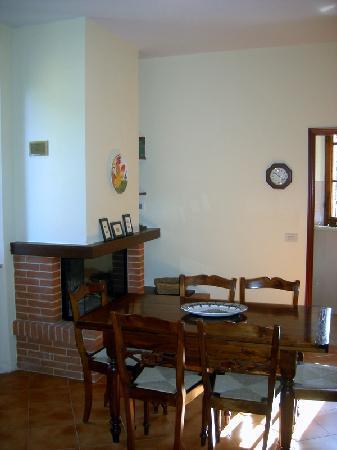 La casa di Lucia: angolo soggiorno