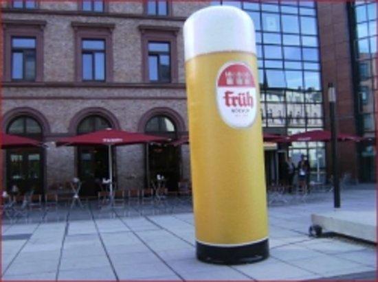 Kölnisch Wasser: von außen