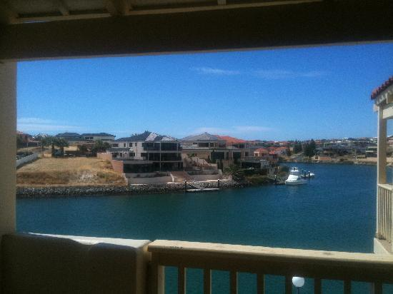 The Marina Hotel: View from room