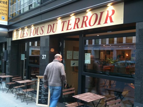 les Fous du Terroir: Eingang