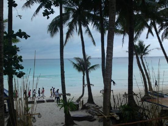 Boracay SandCastles The Apartments: View from our Room