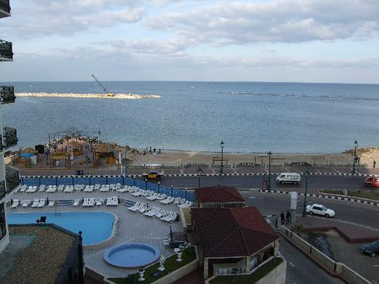 Sheraton Montazah Hotel : 部屋からの眺め
