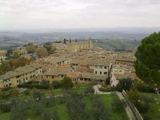 Agriturismo Guardastelle: Vista dalla torre
