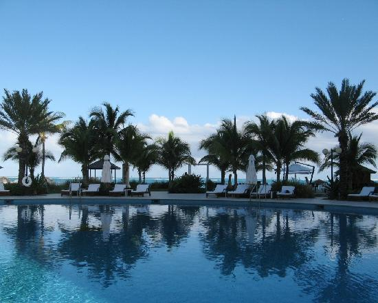 Seven Stars Resort & Spa: overlooking pool -- beach in background