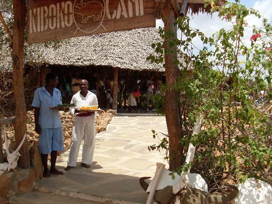 Kiboko Camp: l'arrivo