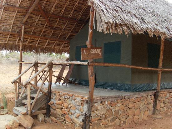 Kiboko Camp: la tenda dove ho dormito