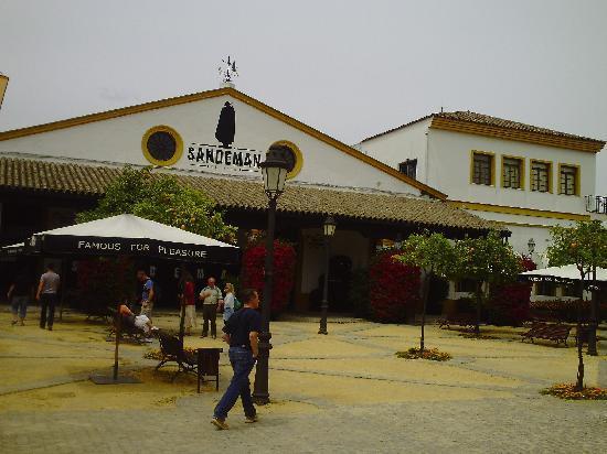 Jerez De La Frontera, Spain: Sandeman Sherry Fabrik
