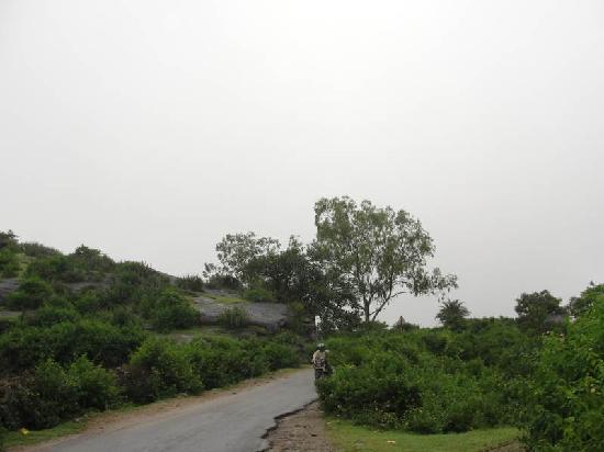 Mount Abu, India: road