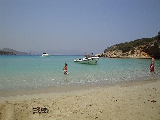 Mistral Mare Hotel: nice beach