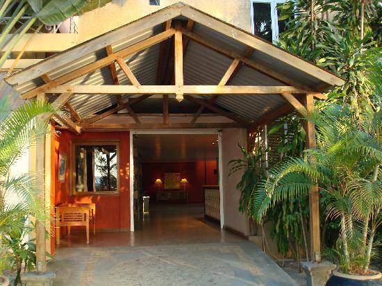 Villas Mon Plaisir: Hall d'entrée de l'hòtel