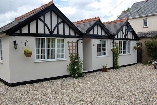 Didcot, UK: Bungalow front view