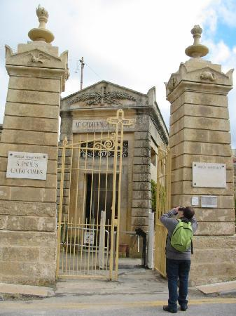 St. Agatha's Crypt, Catacombs & Museum: Entrée