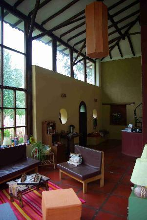 The Green House Peru: The Lobby