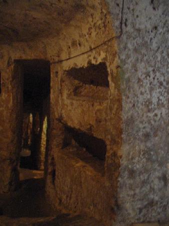 Krypta, Katakomben und Museum St. Agatha: Couloirs