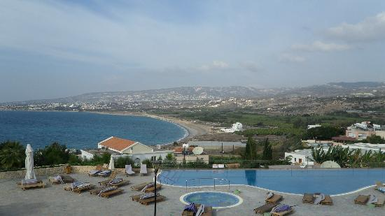 Kissonerga, Cyprus: pool view