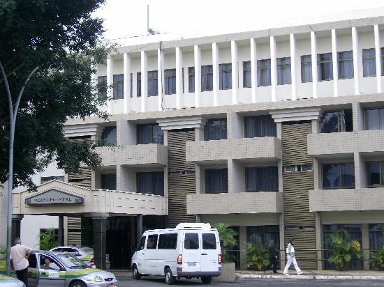 Monumental Bittar Hotel: facade