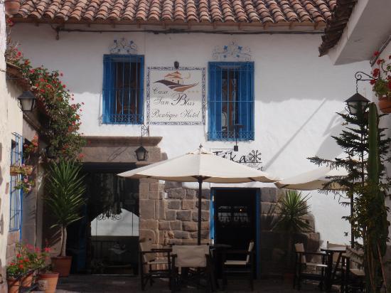 Casa San Blas Boutique: Hotel front