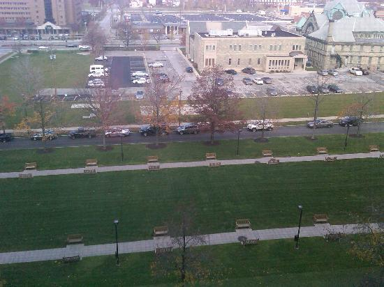 InterContinental Hotel Cleveland: view out window