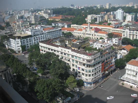 Caravelle Saigon: CIty View - normal room (lowest rate) - but great view!