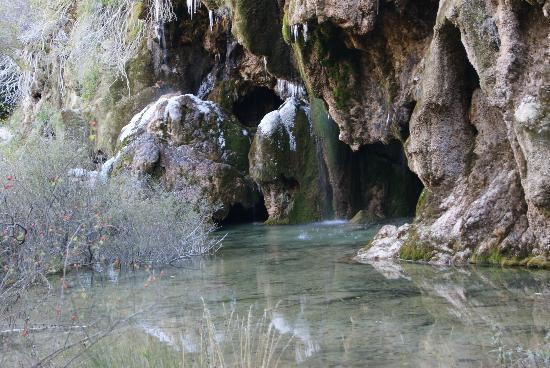 Cuenca, Espanha: Nacimiento del Río Cuervo