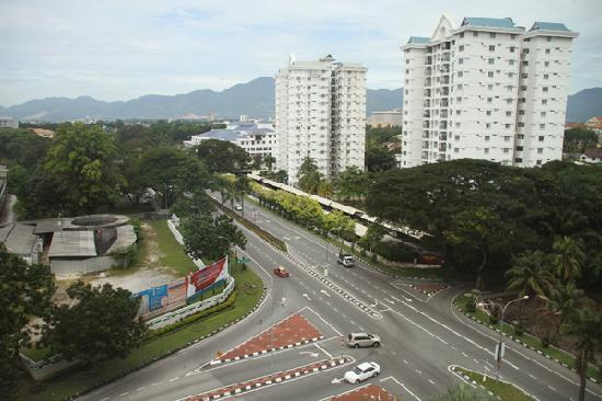 Heritage Hotel Ipoh: View from the window of the Hotel room.