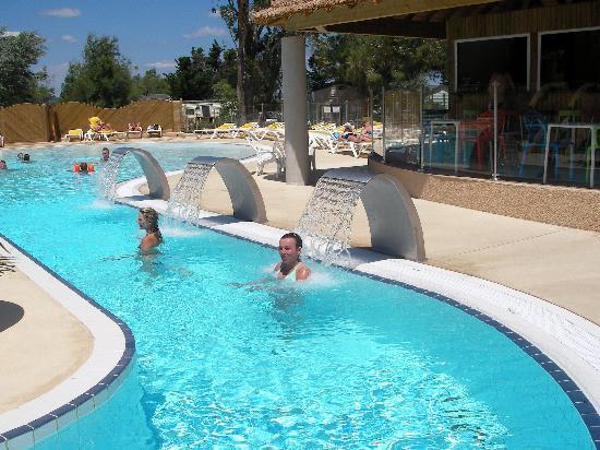 Le Barcares, France : The new pool complex