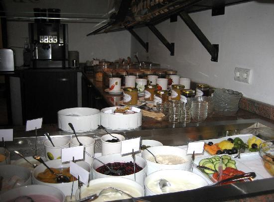 Hotel Antoniushof : Teil des Frühstückbuffets