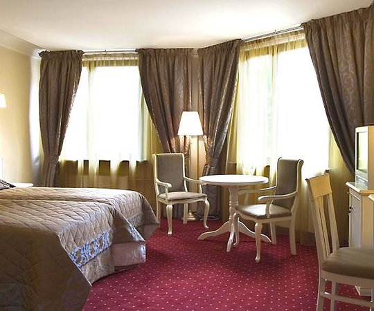 The Brothers Karamazov Hotel: Interior  guestroom