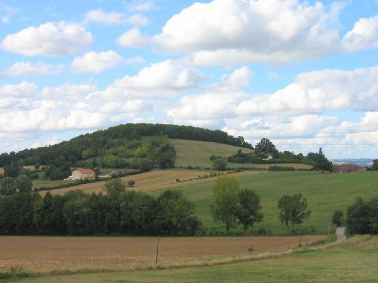 Meric Gites: Views from the gites