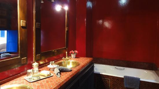 RIAD AYADINA : Salle de bains