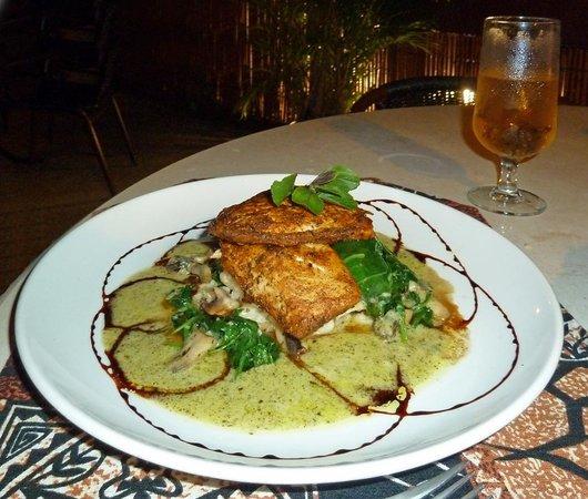 Wahooo Seafood Grill & Bar: Volcano Spiced Walu