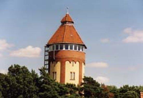 Gifhorner Wasserturm mit Panoramacafé