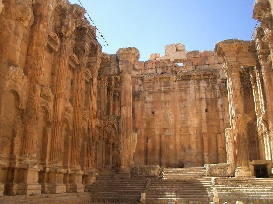 Temples de Baalbek : Baalbeck
